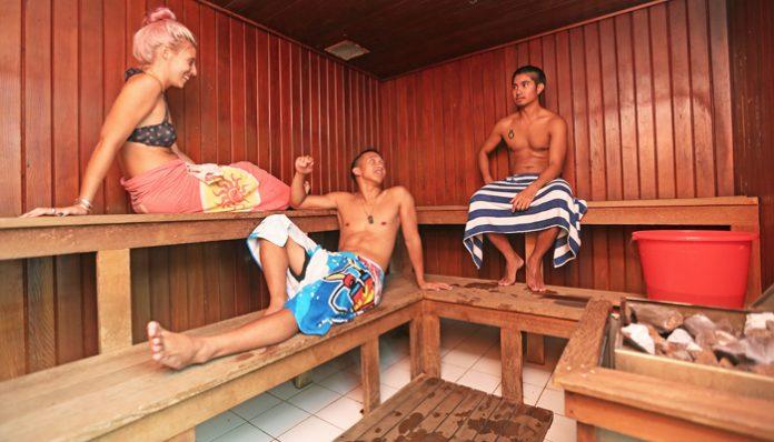 personal sauna