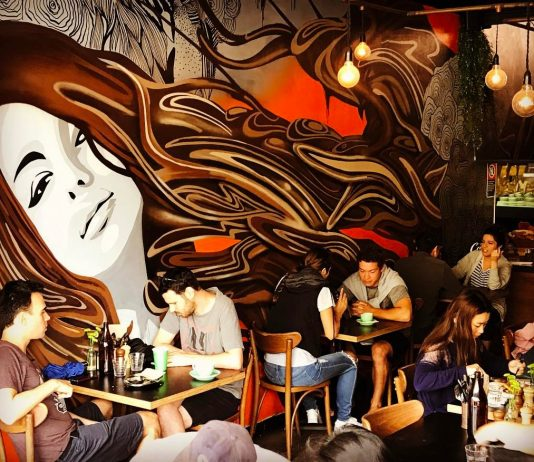 cafe murals sydney contessa balmain cafes