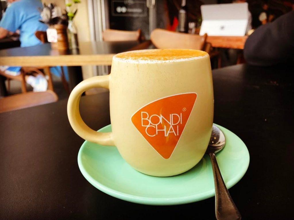 bondi chai latte contessa cafe balmain sydney cafes