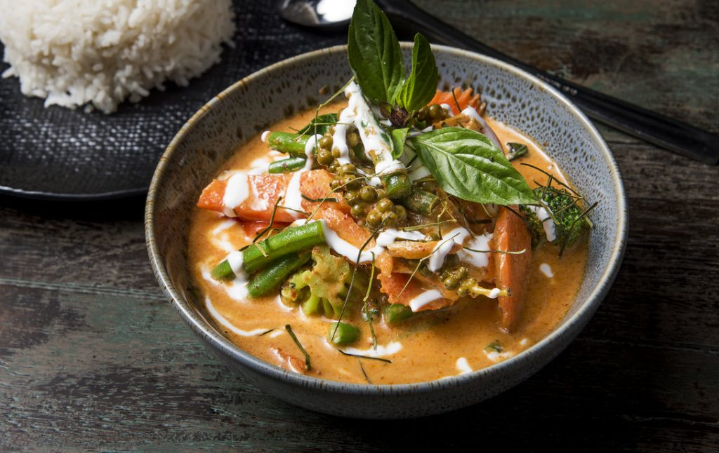 The Ginger Tiger Sublime Red Curry