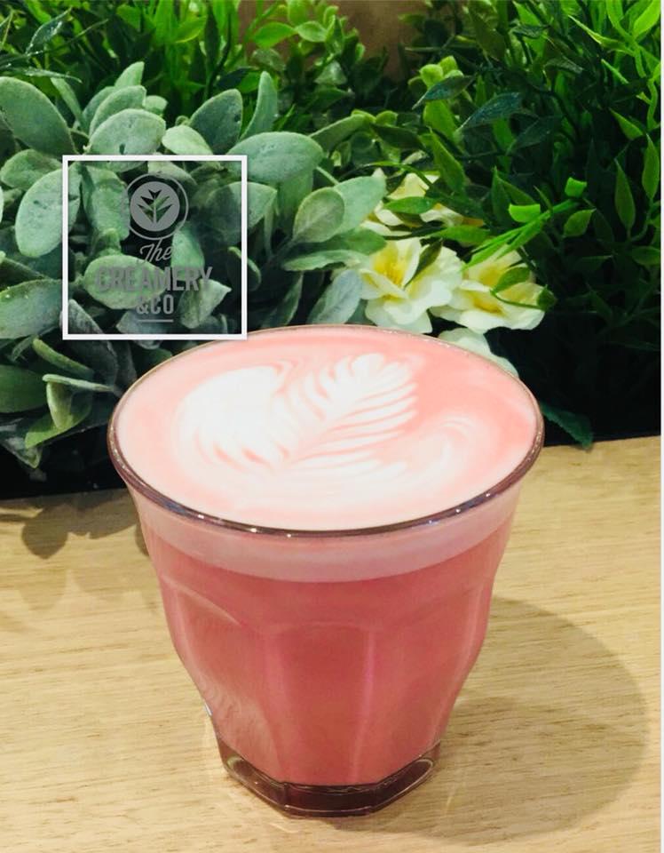 red velvet latte sydney cafes